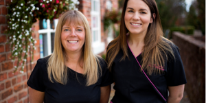 Hygienists Vicky and Sarah