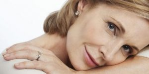 Women with unwanted eye wrinkles